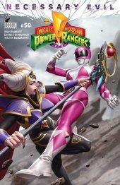 Mighty Morphin Power Rangers #50 Torpedo Comics Exclusive Pink Ranger Variant