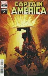 Captain America #18 Adam Kubert Marvels X Variant