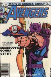 The Avengers #223 Newsstand Edition