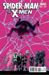 Spider-Man and the X-Men #3 Shalvey Variant