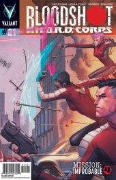 Bloodshot and H.A.R.D. Corps #21 Pullbox Molina Variant