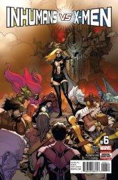 Inhumans vs. X-Men #6 Original Cover