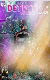 Detective Comics #1000 ComicSketchArt Exclusive Silver Foil Variant