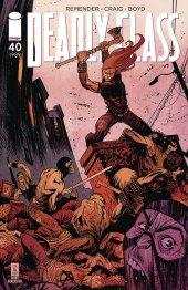 Deadly Class #40 Cover B Harren