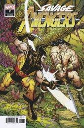 Savage Avengers #2 Bradshaw 1:25 Variant
