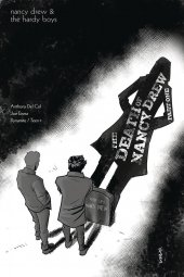 Nancy Drew and the Hardy Boys: The Death of Nancy Drew #1 1:10  Eisma B&w Cover