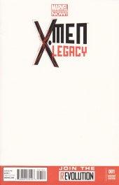 X-Men: Legacy #1 Blank Variant