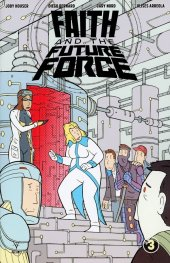 Faith And The Future Force #3 Cover C 1:10 Paskiewicz
