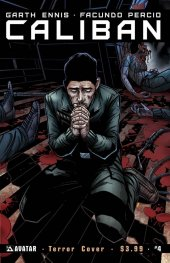 Caliban #4 Terror Cvr