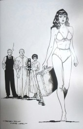 Bettie Page #3 1:35 Peeples B&W Virgin Incentive