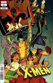 Uncanny X-Men #1 1:25 Cliff Chiang Variant