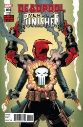 Deadpool Versus The Punisher #4 Roche Variant