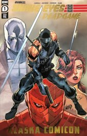 Snake Eyes: Deadgame #1 Rob Liefeld & Federico Blee Alaska Comicon Exclusive Gold Foil Variant Cover