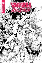 Vampirella / Red Sonja #6 1:7 Incentive