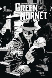 Green Hornet #1 1:35 Weeks B&w Cover