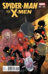 Spider-Man and the X-Men #1 Bengal Variant