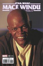 Star Wars: Jedi of the Republic - Mace Windu #1 Movie Variant