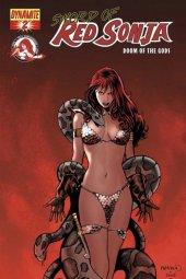 Sword of Red Sonja: Doom of the Gods #2 Paul Renaud Foil Cover