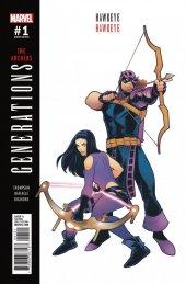 Generations: Hawkeye & Hawkeye #1 Elizabeth Torque Variant