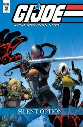 G.I. Joe: A Real American Hero - Silent Option #2 1:10 Incentive Variant