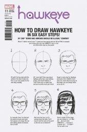 Hawkeye #11 Zdarsky How To Draw Hawkeye