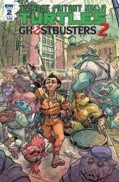 Teenage Mutant Ninja Turtles / Ghostbusters 2 #2 Cover B Tunica