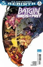 Batgirl and the Birds of Prey #13 Variant Edition