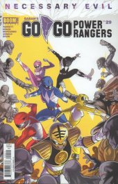Go Go Power Rangers #29 Original Cover