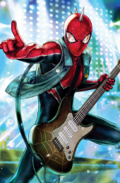 The Amazing Spider-Man #22 Marvel Battle Lines (Heejin Jeon) Variant