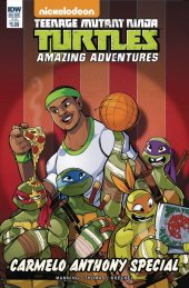 Teenage Mutant Ninja Turtles: Amazing Adventures: Carmelo Anthony Special #1 Subscription Variant