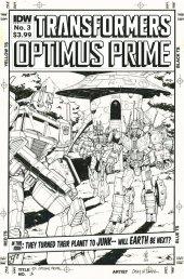 Optimus Prime #3 SUB-A Cover (Artist Edition - Casey Coller)