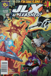 JLX Unleashed #1 Newsstand Edition