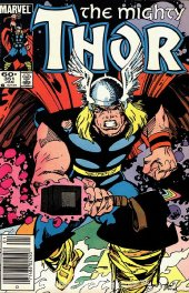 The Mighty Thor #351 Newsstand Edition