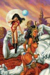 Vampirella / Dejah Thoris #1 1:50 Jusko Virgin Cover