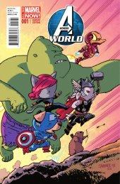 Avengers World #1 Animal Variant