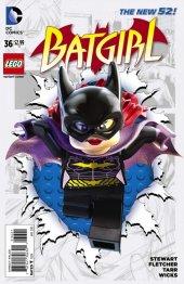 Batgirl #36 Lego Variant