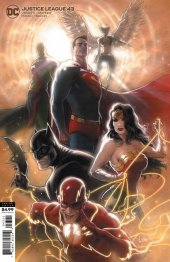 Justice League #43 Card Stock Variant Edition