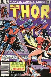 The Mighty Thor #328 Newsstand Edition