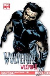 Wolverine: Weapon X #1 2nd Printing Garney Variant