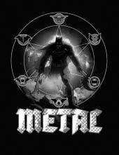 Dark Nights: Metal #1 Greg Capullo Midnight Variant B