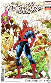 The Amazing Spider-Man #1 1:100 John Romita SR Variant