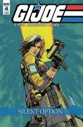 G.I. Joe: A Real American Hero - Silent Option #4 Cover B Loh