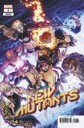 New Mutants #1 1:25 Nick Bradshaw Variant