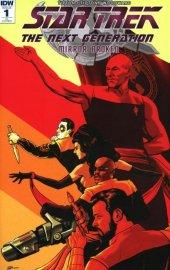 Star Trek: The Next Generation - Mirror Broken #1 1:25 Rosenlund Cover