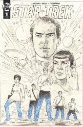 Star Trek: Year Five #1 1:25 Incentive Variant