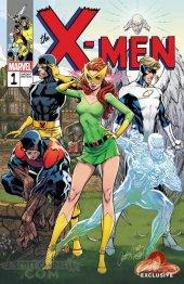 X-Men: Blue #1 J Scott Campbell Cover B