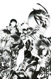 Mighty Morphin Power Rangers: Ranger Slayer #1 1:25 B&W Dan Mora Variant