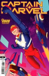 Captain Marvel #13 Kris Anka 2020 Variant