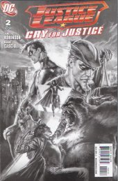 Justice League: Cry For Justice #2 Second Printing