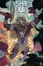 Shadowman #7 Cover E 1:20 Cover Interlocking
